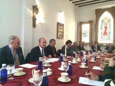 La reunión del Foro de Turismo de Málaga.