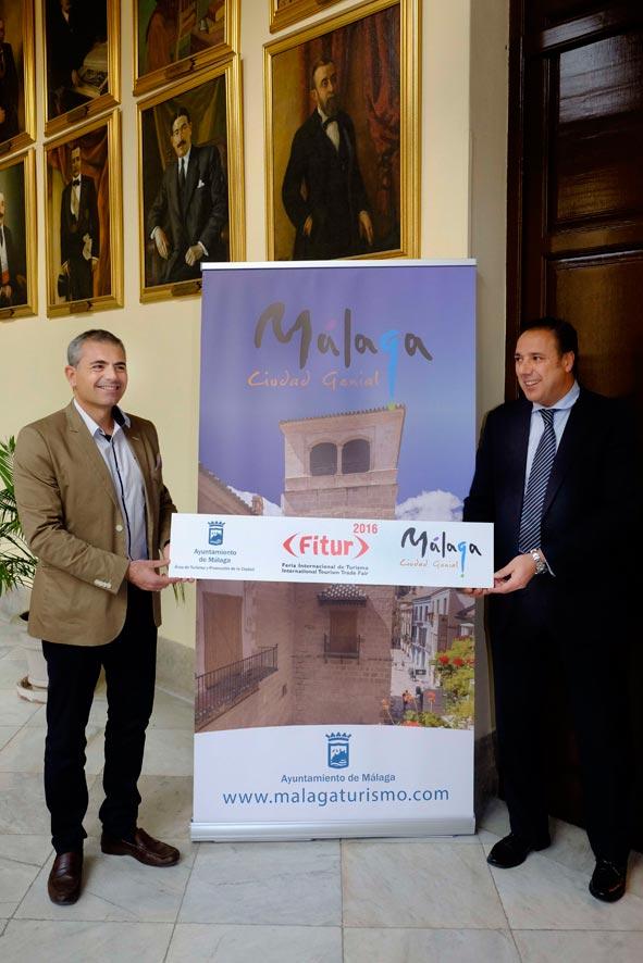 Málaga acude a Fitur con su oferta cultural, cruceros, idiomas y congresos