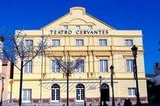 El Teatro Cervantes de Málaga.