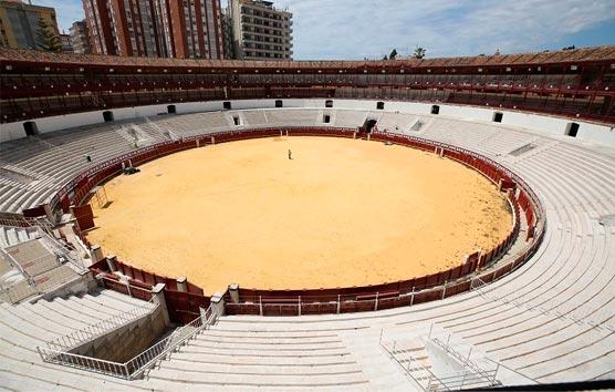 Comienzan las obras para el centro cultural en la plaza de toros La Malagueta