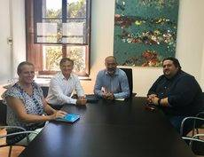 Lucía Escribano, Ramón Vidal, Andreu Serra y Joan Gaspar Vallori.