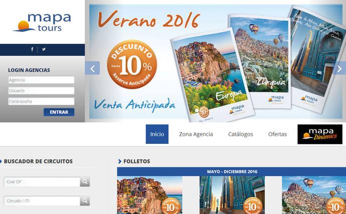 Mapa Tours desarrolla una 'app' para el cliente final