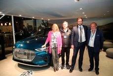 La presentación de Audi en Marbella.