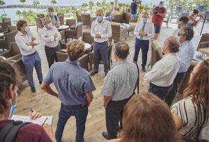 Marichal: 'No podemos seguir sin hoja de ruta'