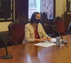 La ministra de Turismo, Reyes Maroto.