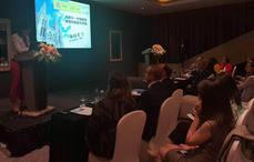 Reyes Maroto, en la sesión 'España-China: Turismo e Inversiones'.