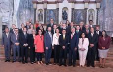 Intervino en la  Conferencia Iberoamericana de Ministros de Economía y Turismo.