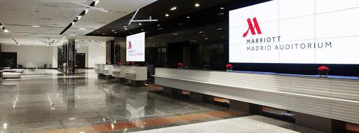 Madrid Marriott Auditorium, clave en los eventos de la capital, reabierto
