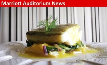 Restaurante Kalma, nuevo menú en el Marriott Auditorium