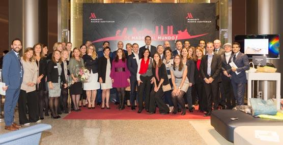Madrid Marriott Auditorium celebra sus 15 años presentando un nuevo salón y concepto gastronómico