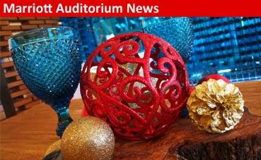 Esta Navidad regala magia al paladar en Marriott Auditorium