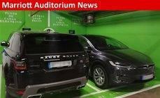 Ya puedes recargar tu vehículo eléctrico en Madrid Marriott Auditorium