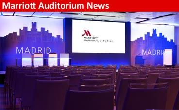Un sueño más allá del Sector MICE: Marriott Auditorium