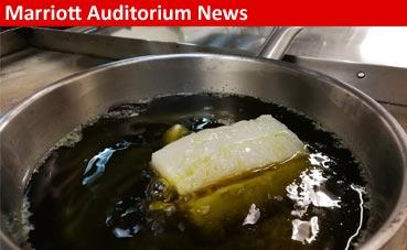 Hoy, de menú, bacalao y torrijas en Marriott Auditorium