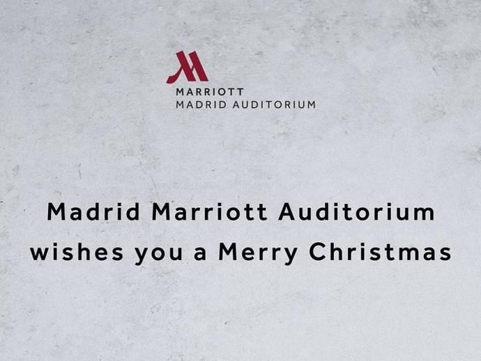 El mejor menú navideño, en el Marriott Auditorium