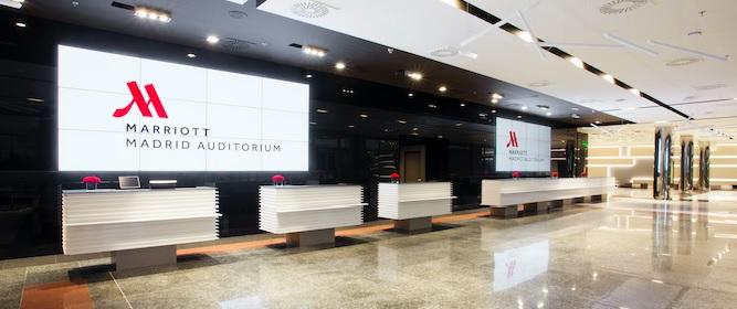 Madrid Marriott Auditorium, referente internacional en el segmento MICE