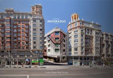 El Hotel Mayorazgo, un centro de convenciones y congresos en la Gran Vía madrileña
