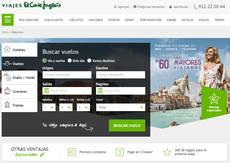 Viajes El Corte Inglés cuenta con la campaña Los Mayores Viajeros.