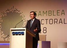 Antonio Garamendi ha sido elegido presidente por aclamación.