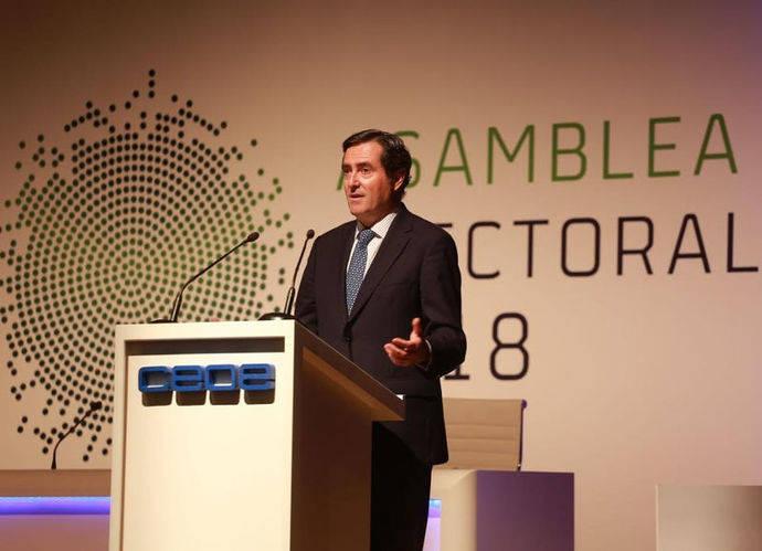 Antonio Garamendi, elegido presidente de CEOE
