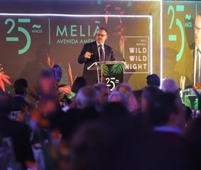 Meliá Avenida América celebra su aniversario con el sector turístico y congresual
