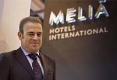 El vicepresidente y consejero delegado de Meliá Hotels International, Gabriel Escarrer.