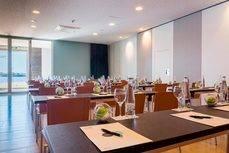 Una salas de reuniones del hotel Barceló Hamilton Menor, en Mahón.