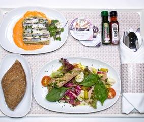 Air Europa sirve a bordo la cocina de Martín Berasategui