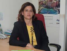 La gerente de CEAV, Mercedes Tejero.