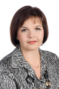 La presidenta, Merike Hallik.