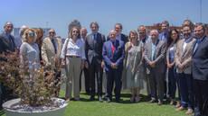 El ministro de Fomento se ha reunido con los miembros de la Mesa del Turismo.