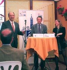 La presidenta de MPI Spain, Sandrine Castres, en el evento que se celebró en Sevilla.