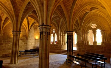 El Monasterio de Piedra, sede del evento de La Charte