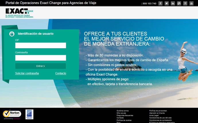 Crean una web de cambio de moneda para agencias