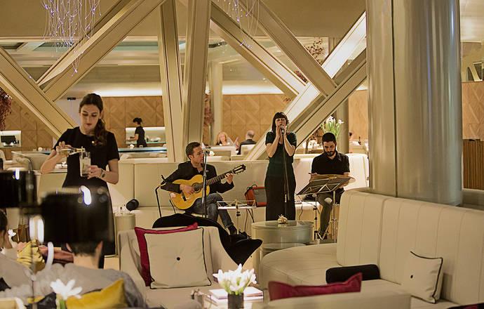 El bar Hall0 del Monument Hotel celebra los viernes