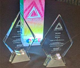 Movilok Showcases gana el premio de Plata en los DSE Apex Awards 2017