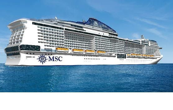 MSC da la bienvenida a los primeros pasajeros a bordo del MSC Grandiosa