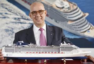 Las agencias acaparan más del 97% de las ventas de MSC Cruceros en España