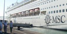 En MSC Cruceros representa el 2,7% del total de ventas.