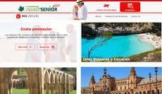 Página web de Mundosenior Plus.