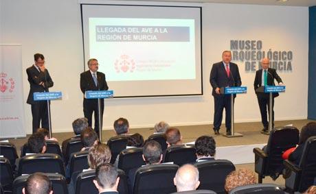 Murcia tendrá seis servicios diarios de AVE con Madrid