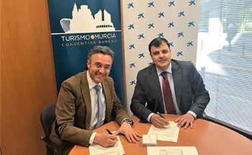 CaixaBank y Murcia Convention Bureau siguen su alianza