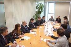 La primera reunión de la Mesa Turística del AVE de Murcia.