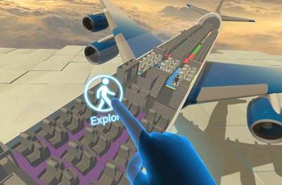 Primera reserva de un viaje mediante realidad virtual