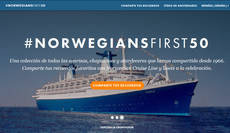 La compañía de cruceros ha creado una página web para la ocasión.