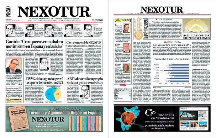 Lea la edición del Semanario NEXOTUR en pdf