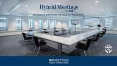NH Meetings, platós en los hoteles para eventos híbridos.