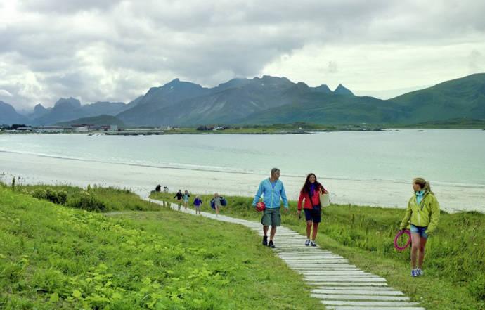España lidera el crecimiento de viajes al destino Noruega