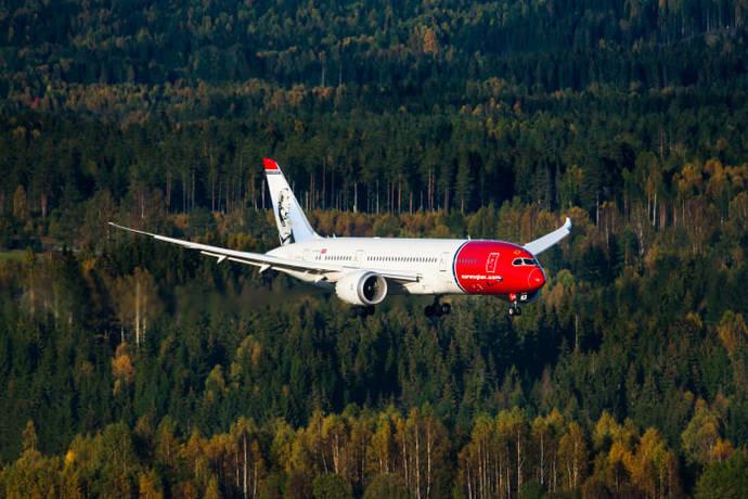 Norwegian contará con 42 Dreamliners en el año 2020