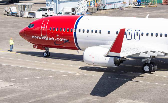 Norwegian rompe el monopolio entre Reino Unido y Brasil